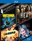 Comics Collection: 4 Film Favorites [4 Discs] [blu-ray] 5747091