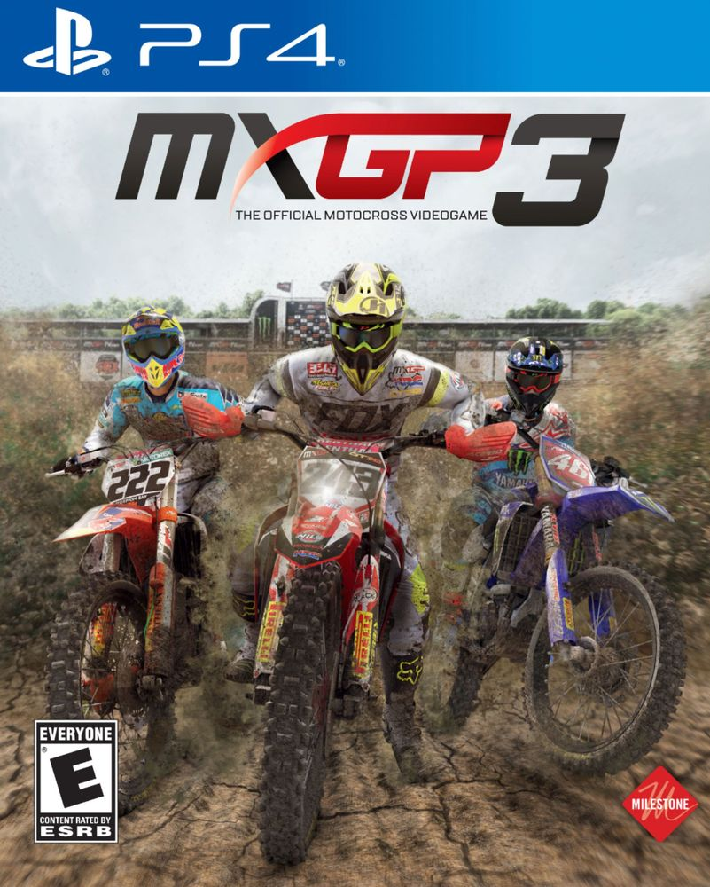 MXGP 3: The Official Motocross Videogame – PlayStation 4