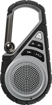 Ion Audio - Clipster Active Bluetooth Clip-On Speaker - Black