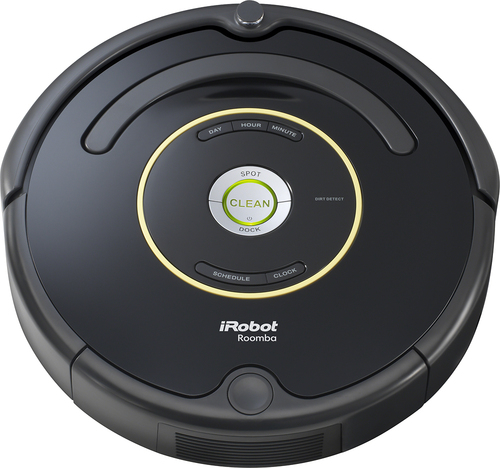 iRobot - Roomba 650 Vacuuming Robot - Black