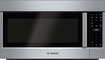 Bosch - 500 Series 2.1 Cu. Ft. Over-the-Range Microwave - Stainless-Steel