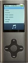Mach Speed - Eclipse 180G2 Series 4GB* Video MP3 Player - Silver