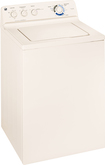GE - 3.7 Cu. Ft. 12-Cycle Top-Loading Washer - Bisque-on-Bisque