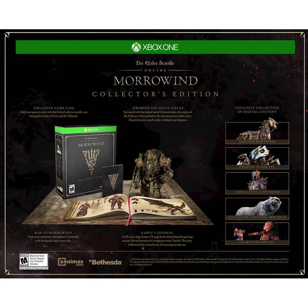 The Elder Scrolls Online: Morrowind Collector's Edition – Xbox One