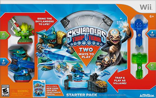 Cheap Video Games Stores Skylanders Trap Team Starter Pack - Nintendo Wii
