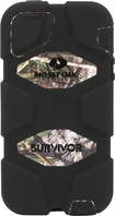 Griffin Technology - Survivor Case for Apple® iPhone® 5 and 5s - Black/Green