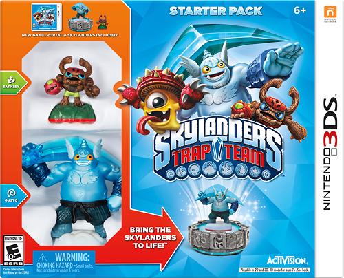 Skylanders Trap Team Starter Pack - Nintendo 3DS