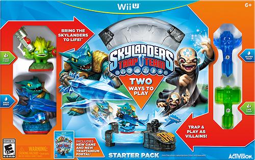 Skylanders Trap Team Starter Pack - Nintendo Wii U