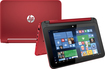 "HP - Pavilion x360 2-in-1 11.6"" Touch-Screen Laptop - Intel Pentium - 4GB Memory - 500GB Hard Drive - Brilliant Red"