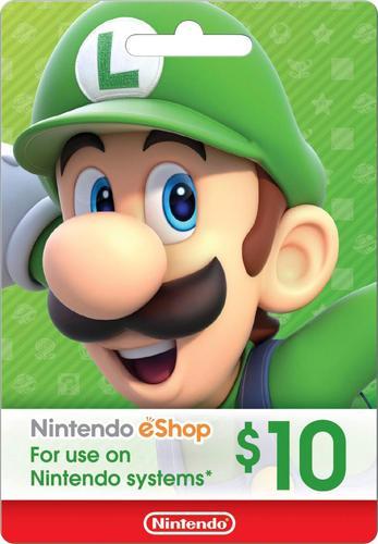 Nintendo $10 eShop Gift Card NINTENDO ESHOP $10 - Best Buy