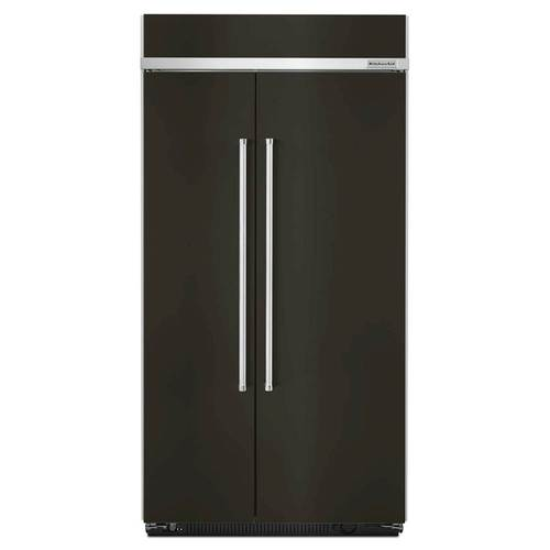 KitchenAid - 25.5 Cu. Ft. Side-by-Side Built-In Refrigerator ...