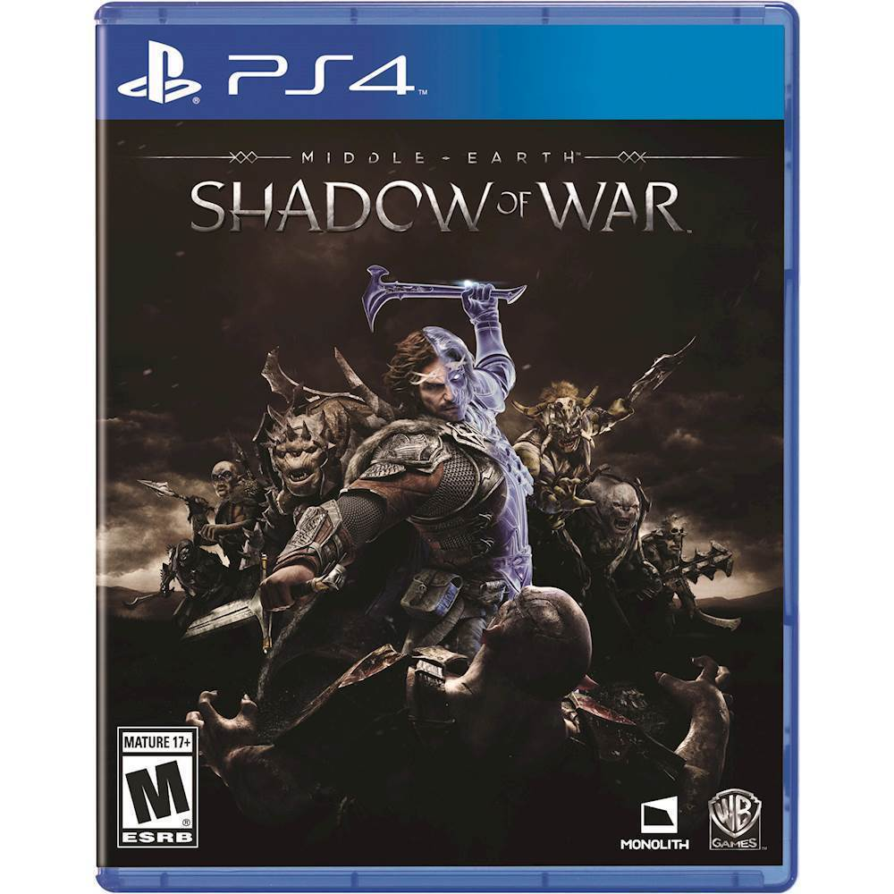 Middle-Earth: Shadow of War Gold Edition – PlayStation 4