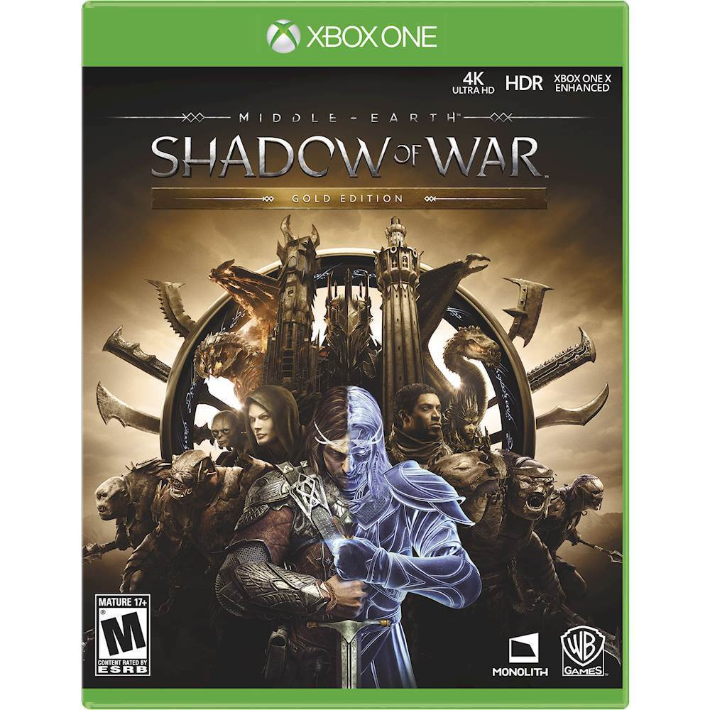Middle-Earth: Shadow of War Gold Edition – Xbox One