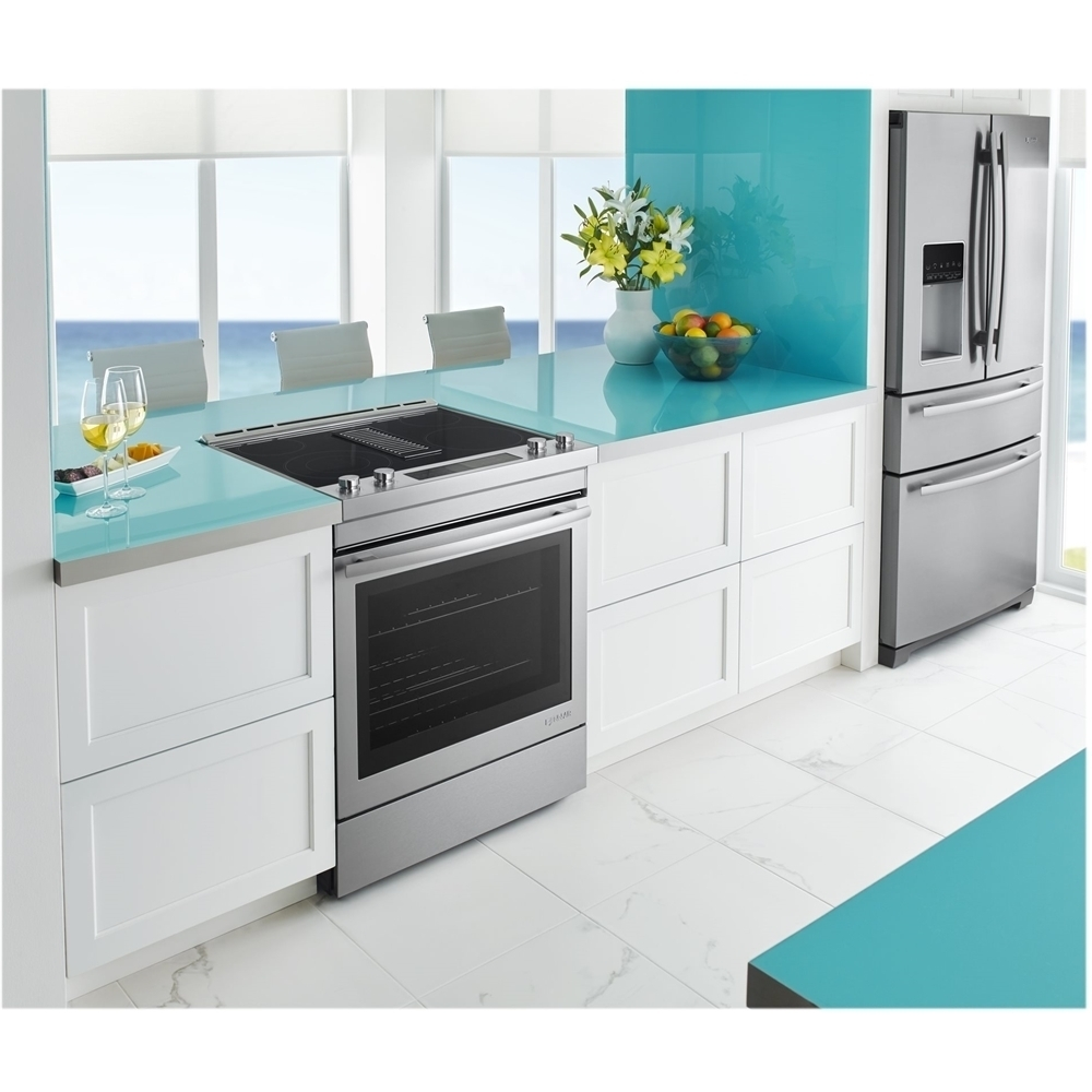 Jenn-Air - 6.4 Cu. Ft. Self-Cleaning Slide-In Electric Convection ...