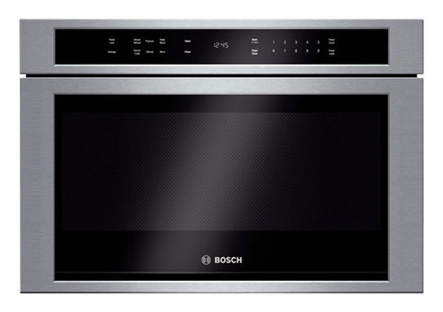 bosch microwave drawer 24 hmd8451uc 30 series cu ft built silver best buy