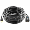 Sabrent - USB 2.0 Active Extension Booster Cable 65Ft