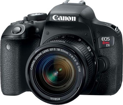 Canon EOS Rebel T7i DSLR Camera with EF-S 18-55mm IS STM Lens ...