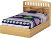 "South Shore - Popular Collection 54"" Full Mates Bed"