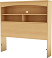 """South Shore - Step One Collection 39"""" Twin 3-Shelf Bookcase Headboard"""
