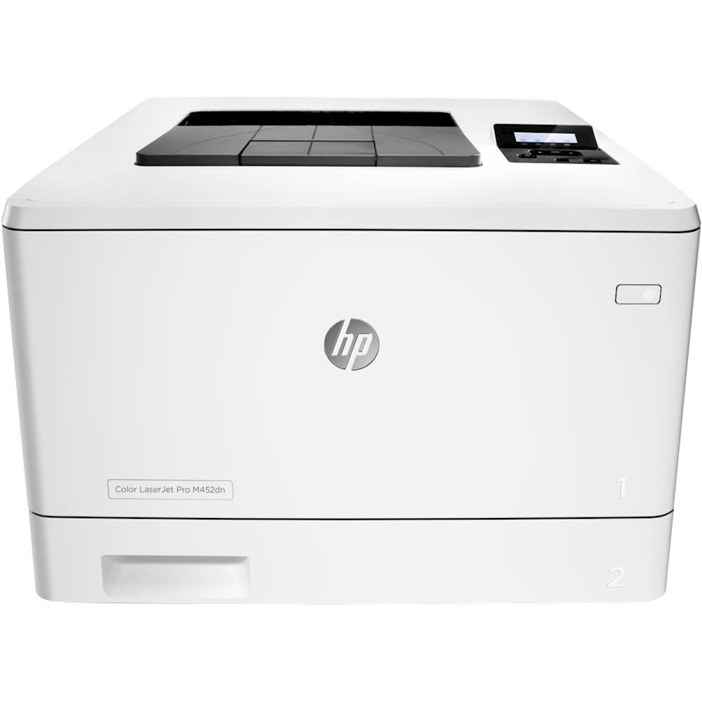Hp hp color laser printers 11x17 - Hp Refurbished Laserjet Pro M452dn Color Printer White