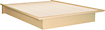 """South Shore - Step One Collection 54"""" Full Platform Bed"""