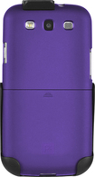 Platinum Series - Case with Holster for Samsung Galaxy S III Cell Phones - Purple