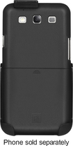 Platinum Series - Case with Holster for Samsung Galaxy S III Cell Phones - Black