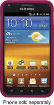 Platinum Series - Plastic Case with Holster for Samsung Epic 4G Touch Cell Phones - Pink