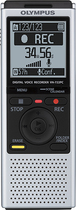 Olympus - VN-722PC Digital Voice Recorder - Silver