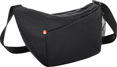Manfrotto Camera Shoulder Bag Gray Angle