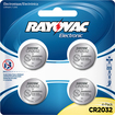 Rayovac - Lithium 2032 Batteries (4-Pack) - Silver