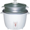 Brentwood - TS-380S 10 Cup Rice Cooker and Steamer - White