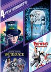 Tim Burton Collection: 4 Film Favorites [4 Discs] (dvd) 5812007