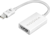 Insignia™ - Mini DisplayPort-to-HDMI Adapter - White