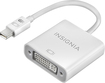 Insignia™ - Mini DisplayPort-to-DVI Adapter - White