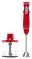 Chefman - 2-Speed Hand Blender - Red