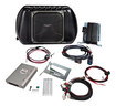 Kicker - PowerStage Audio Upgrade System for 2011-2014 4-Door Jeep Wrangler Vehicles - Silver/Black
