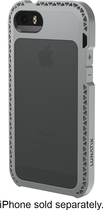 LUNATIK - Seismik Bumper Case for Apple® iPhone® 5 and 5s - Gray