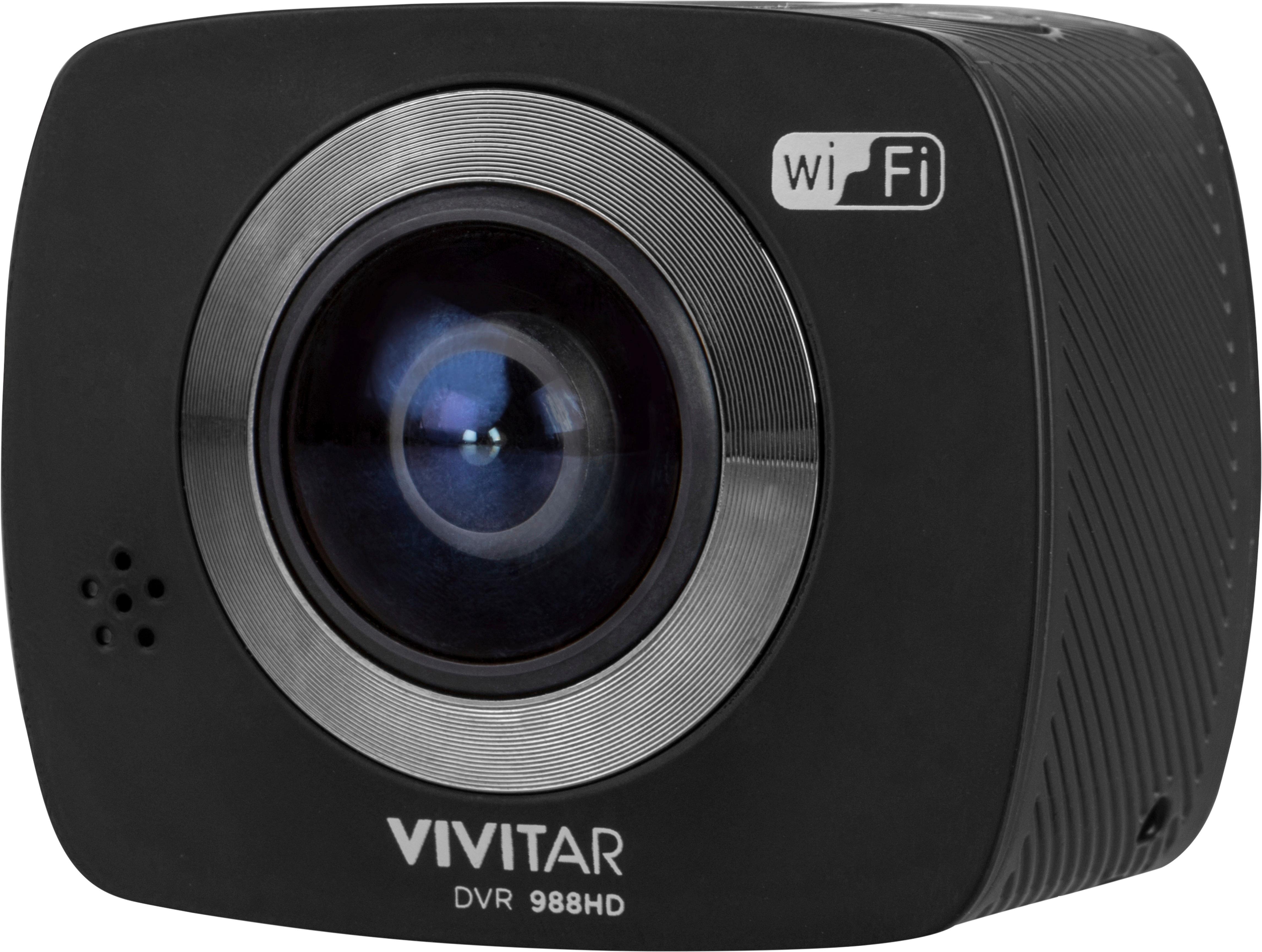Vivitar 360 Degree Action Camera Black DVR988HD - Best Buy