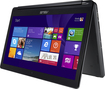 "Asus - 2-in-1 15.6"" Touch-Screen Laptop - Intel Core i5 - 8GB Memory - 1TB Hard Drive - Black"