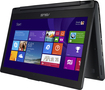 "Asus - 2-in-1 13.3"" Touch-Screen Laptop - Intel Core i5 - 8GB Memory - 500GB Hard Drive - Black"
