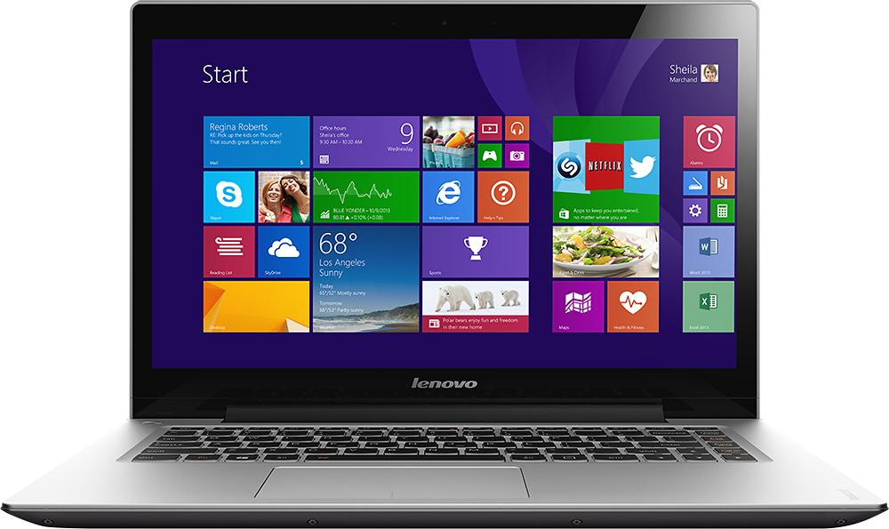 "Lenovo - 14"" Touch-Screen Laptop - Intel Core i5 - 8GB Memory - 500GB Hard Drive - Gray"