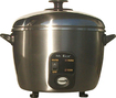 SPT - 6-Cup Rice Cooker and Steamer - Bronze