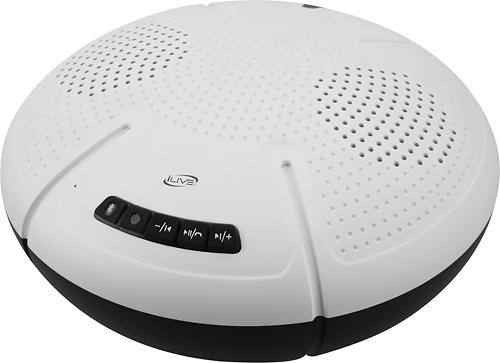 iLive - Bluetooth Floating Speaker - White
