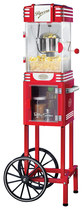 Nostalgia Electrics - Retro Series Kettle Popcorn Cart - Red