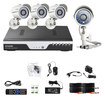 Zmodo - 4-Channel, 4-Camera Indoor/Outdoor Security System - White