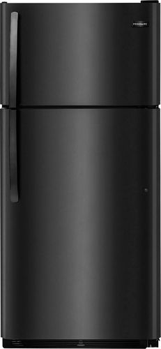 refrigerator black. ft. top-freezer refrigerator - black larger front