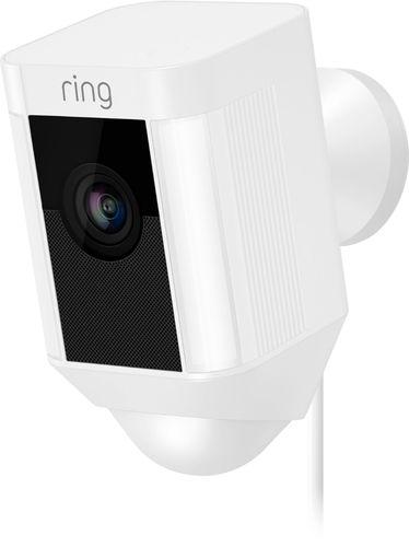 b2c71654b41 Ring Spotlight Cam Wired White 8SH1P7-WEN0 - Best Buy