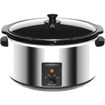 Brentwood - SC-170S 8 qt. Slow Cooker - Stainless Steel