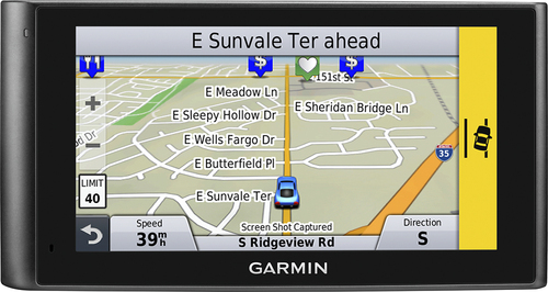Garmin - nüviCam Lmthd 6 GPS with Built-in Camera and Lifetime Map Updates and Lifetime Traffic Updates - Black
